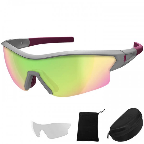 SCOTT Leap 2019 Eyewear Set grey - purple