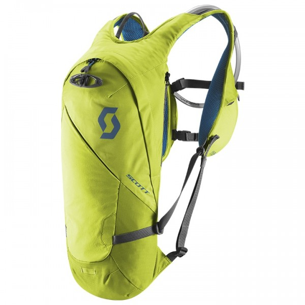 SCOTT Perform HY 6 Hydration Pack, black-orange neon yellow - blue
