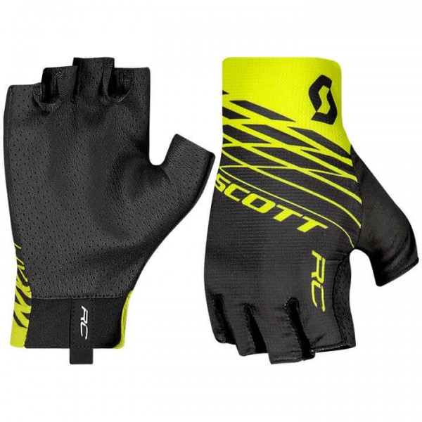 SCOTT RC Pro Gloves black - yellow
