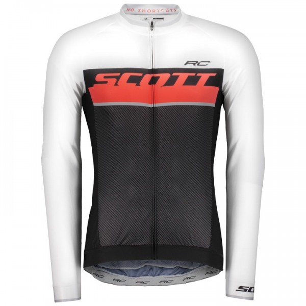SCOTT RC Pro Long Sleeve Jersey black - red