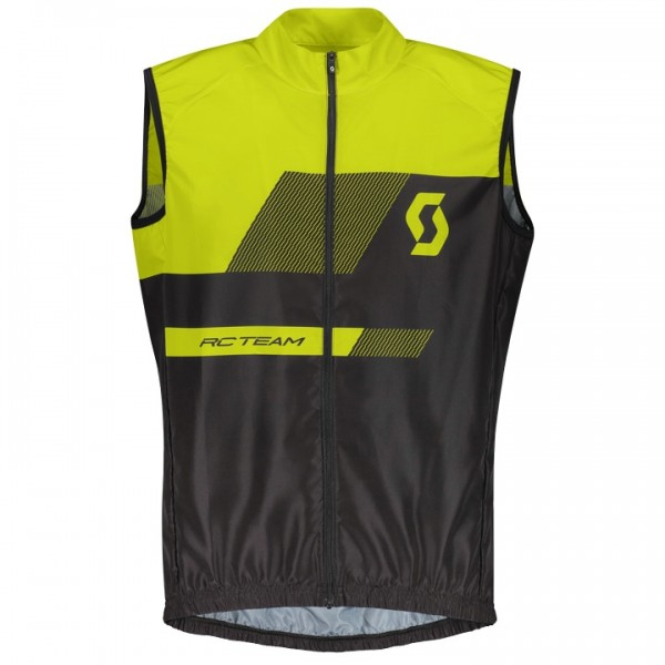 SCOTT RC Team 10 Wind Vest black - yellow