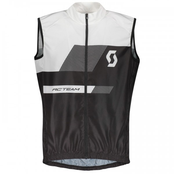 SCOTT RC Team 10 Wind Vest white - black