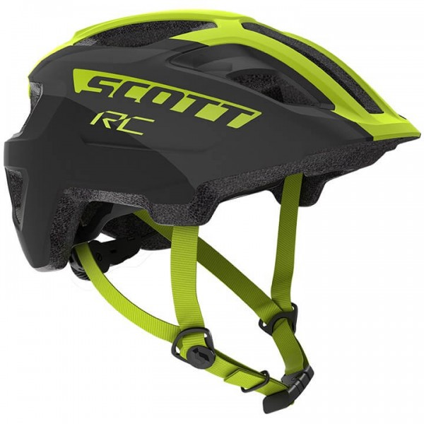 SCOTT Spunto 2019 Helmet neon yellow - black