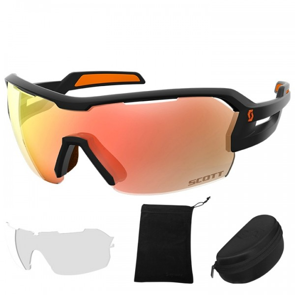 SCOTT Spur 2019 Eyewear Set black - orange
