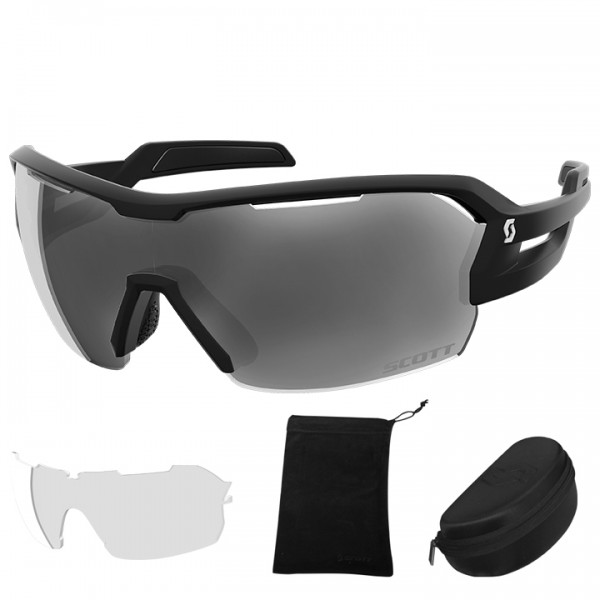 SCOTT Spur 2019 Eyewear Set black