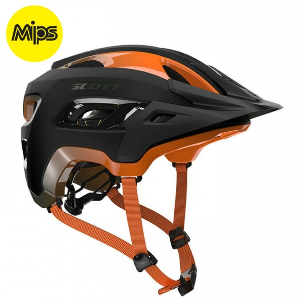 SCOTT Stego 2019 MTB Helmet black - orange