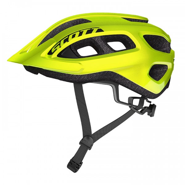 SCOTT Supra 2019 Cycling Helmet neon yellow