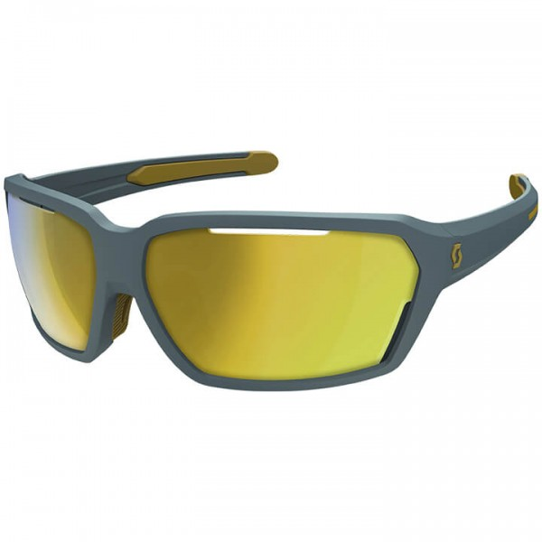 SCOTT Vector 2019 Cycling Eyewear gold - grey