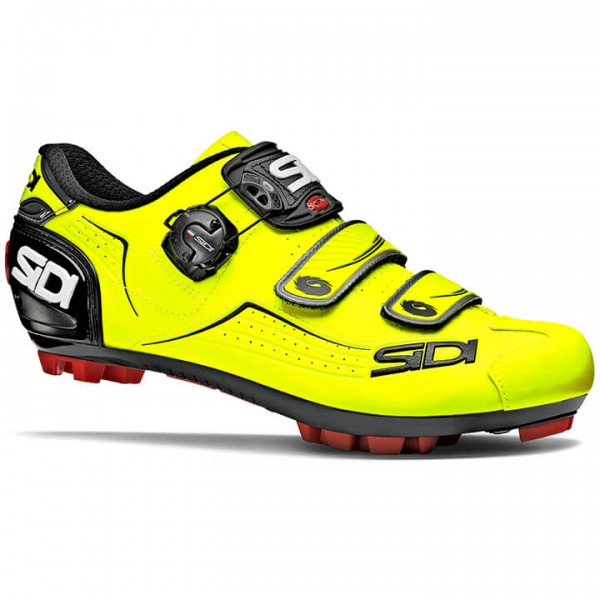 SIDI Trace 2019 MTB Shoes neon yellow - black