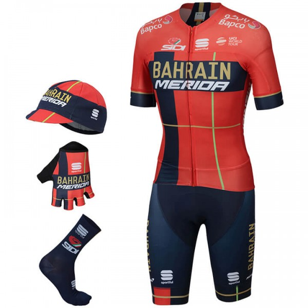 BAHRAIN - MERIDA Pro Race 2019 Maxi-Set (5 pieces)