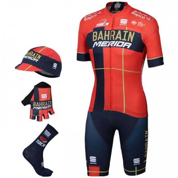 BAHRAIN - MERIDA Team 2019 Maxi-Set (5 pieces)
