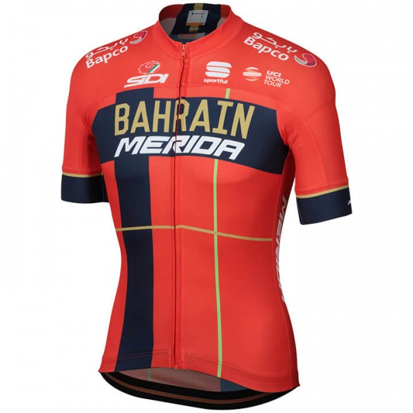 BAHRAIN-MERIDA Team 2019 Short Sleeve Jersey