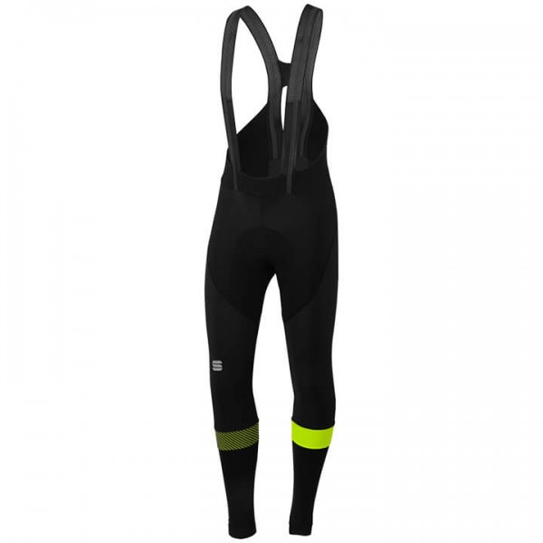 SPORTFUL Bodyfit Pro Bib Tights neon yellow - black
