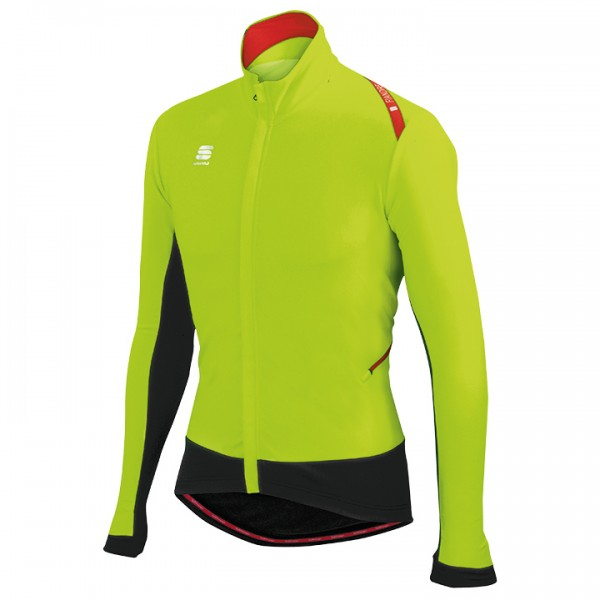 SPORTFUL Fiandre Wind Light Jacket, neon yellow-black neon yellow - black
