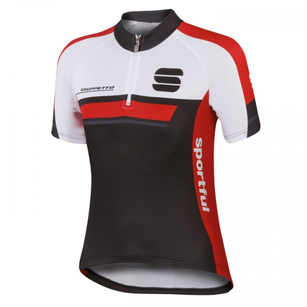 SPORTFUL Gruppetto Jersey, black-red