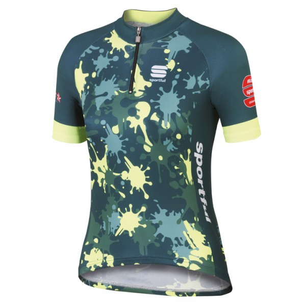 SPORTFUL MGF 15 Jersey, camouflage-neon yellow