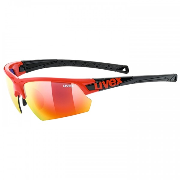 UVEX Sportstyle 224 2019 Cycling Eyewear black - red