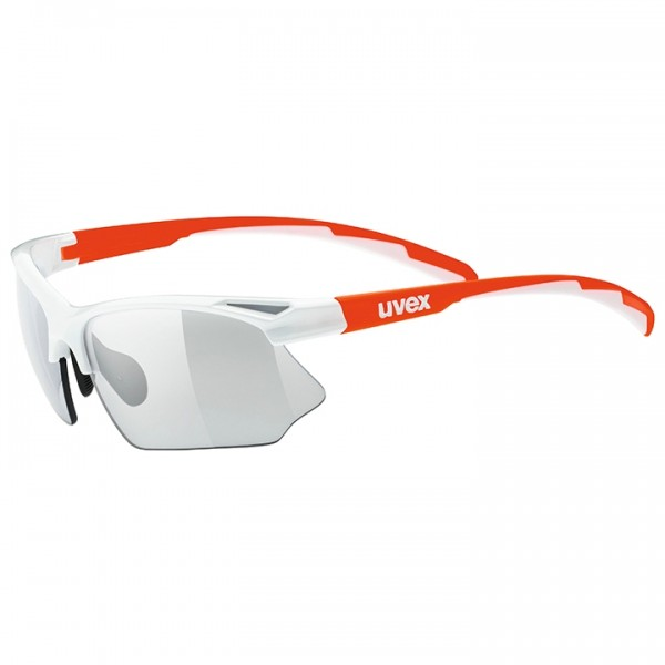 UVEX Sportstyle 802 Vario 2019 Cycling Glasses white - orange