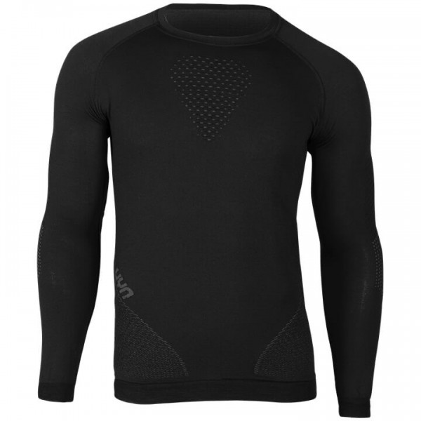 UYN Fusyon Long Sleeve Base Layer grey - black