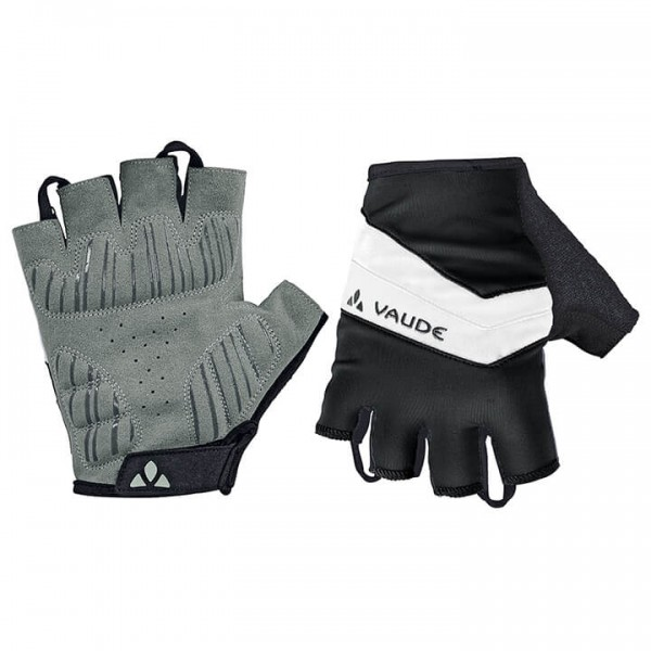 VAUDE Active Cycling Gloves white - black