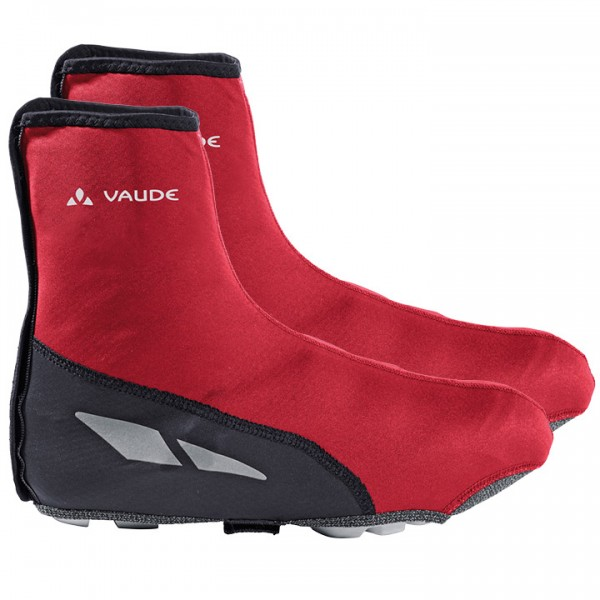 VAUDE Matera MTB Shoe Covers red-black black - red