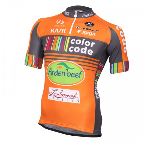 COLOR-CODE AQUALITY PROTECT Short Sleeve Jersey 2016