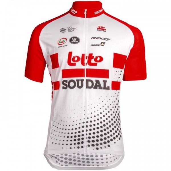 Lotto Soudal 2019 Short Sleeve Jersey