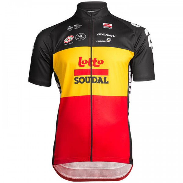 LOTTO SOUDAL Belgian Time Trial Champion 2019 Short Sleeve Jersey