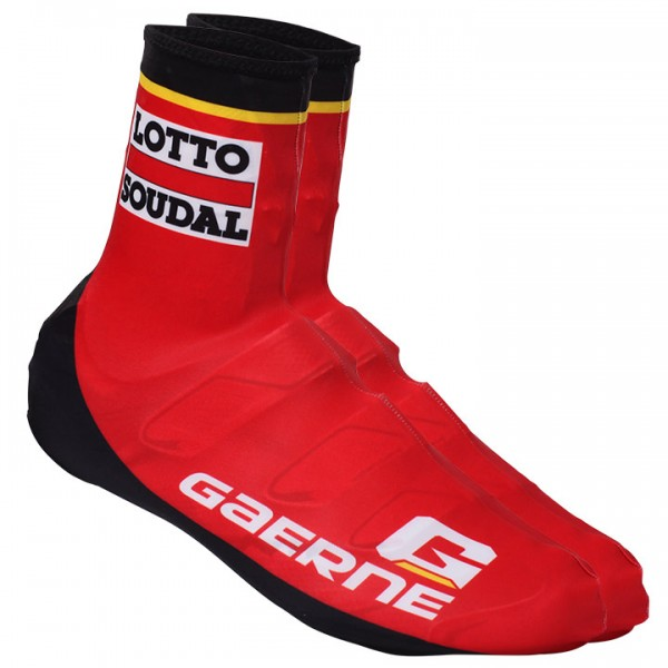 LOTTO SOUDAL Time Trial Shoe Covers 2018