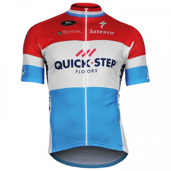 QUICK-STEP FLOORS Short Sleeve Luxembourgian Champion 2018