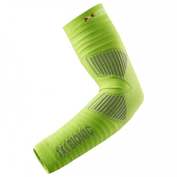 X-BIONIC Effektor Power Arm Warmers lime-grey