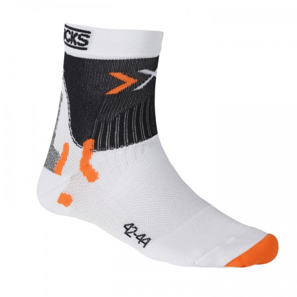 X-SOCKS Cycling Socks Pro Smart Compression white-black
